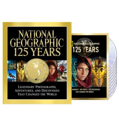 National Geographic 125 Years Book DVD set