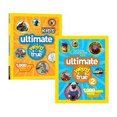 Ultimate weird but true two books set