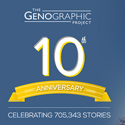 Genographic Project Turns 10
